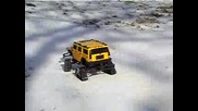 Hummer On Snow & Ice