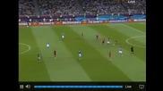 Spain vs Italy 4-0 ( Euro 2012 ) Голът на Торес