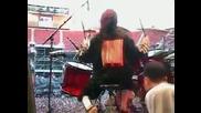 Един от най-добрите барабанисти - Джоуи Джордисън!