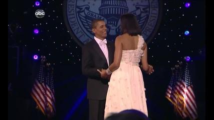 ( Красота ) Beyonce - At Last ( Barack & Michelle Obama - First Dance)