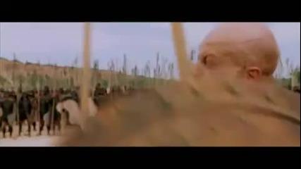 """Сцена от """" Троя """" Ахил показва кой е ..."""