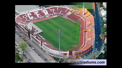 Стадионите в България, Македония, Гърция, Сърбия и Румъния