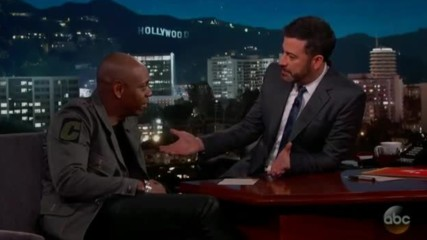 Dave Chappelle - Jimmy Kimmel Live Full Interview 2017