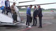 Russia: Serbian national team arrives in Kaliningrad ahead of WC