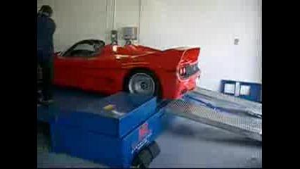 Ferrari F50 Gt1 Dyno
