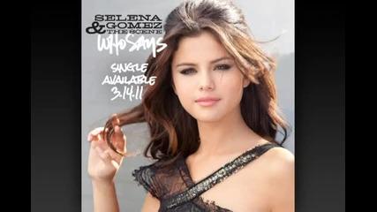 [превод] Selena Gomez & The Scene - Who Says