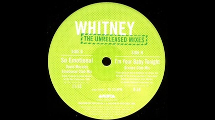 Микс: Whitney Houston 'so Emotional' (david Morales Emotional Club Mix)