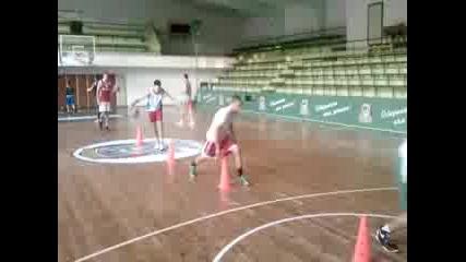 Balkan practice dribbling