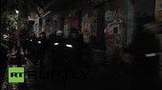 Germany: Police & protesters scuffle for 4th time this week on Berlin's Rigaer Strasse