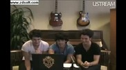 Jonas Brothers Live Facebook Webcast Part 8
