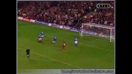 Emile Heskey Liverpool - Birmingham 3 - 1