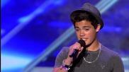 15 годишно момче разби всички! Emery Kelly - The X Factor Usa 2013