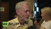 """UK: Corbyn continues spreading """"hope"""" following """"personal attacks"""""""