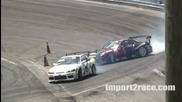 Mazda Rx-7 vs Nissan 240sx Drifting