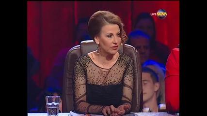 Dancing Stars - Албена и Петьо елиминации (27.03.2014г.)