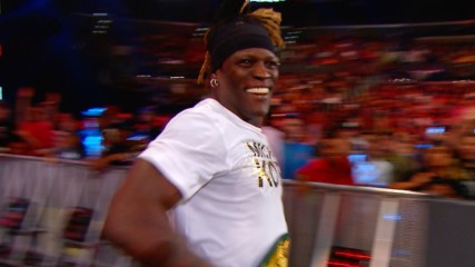 R-Truth runs to safety during the commercial break: WWE.com Exclusive, June 17, 2019