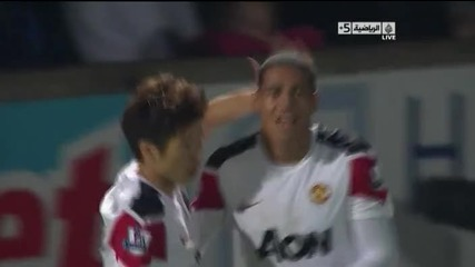 Scunthorpe 1 – 2 Manchester United [carling Cup]