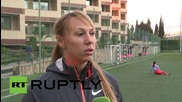 """Russia: """"Maybe they want to stain our country"""" - javelin thrower, Maria Abakumova"""