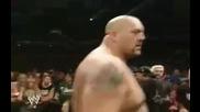 Wwe - R A W - Джон Сина срещу Снитску - мач тип lumberjack 2005