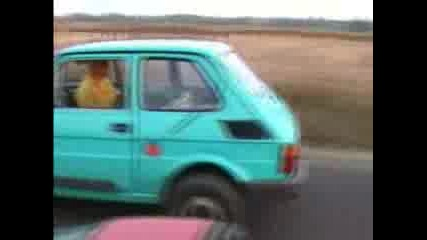 Polski Fiat (getaway In Stockholm)