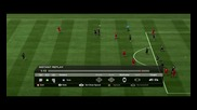 Fifa 11 - Гол с Джерард от 43 ярда