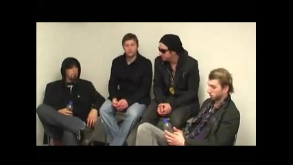 Three Days Grace Video Interview [part 2]