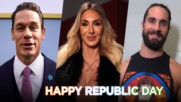 John Cena, Charlotte Flair, Seth Rollins and more wish India a Happy Republic Day: WWE Now India