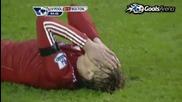 01.01.2011 Ливърпул 2 - 1 Болтън (всички голове)