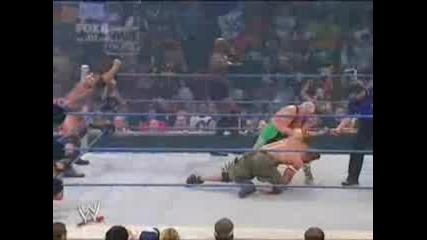 Wwe Кеч Batista Bobby Lashley & John Cena