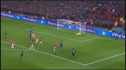 Manchester United vs Real Madrid 1-2