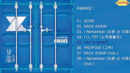[full Album] Knk () - Awake [1st Mini Album]