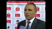 Стоичков продължава с интервютата на английски