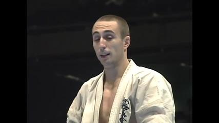 Dimitrov vs. Nesterenko 9th World Karate Championship 3rd place play off