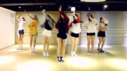 Oh My Girl - A-ing Listen to my Word - mirrored dance practice video -