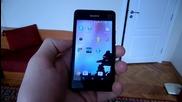 Sony Xperia E1 Dual Видео Ревю - SVZMobile