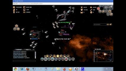 darkorbit - bitka mejdu dvama s voina