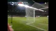 Manchester United Vs. Porsmouth - C.ronaldo
