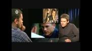 Уентуърт Милър Интервю - Водещ имитира Майкъл Скофийлд, Смях!