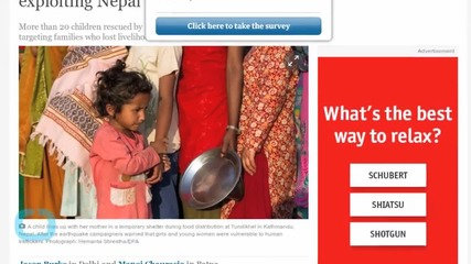India Rescues Children From Traffickers Exploiting Nepal Earthquake Aftermath
