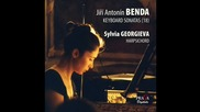 Jiří Antonín Benda - Sonata n.3 in D minor, 2nd mov. Andantino / Силвия Георгиева