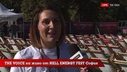 THE VOICE LIVE от HELL ENERGY FEST 2021: Часове преди началото [01]