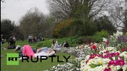 UK: Hottest day of the year hits London