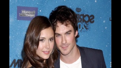 Ian Somerhalder and Nina Dobrew (my favorite couple) for selena_fenchee