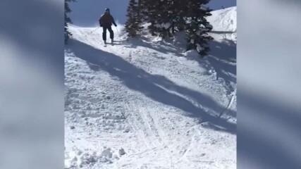 Зимни провали- Да ''вържеш'' ските