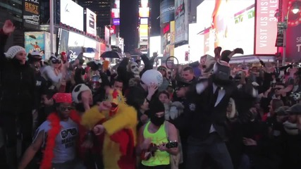 Най-доброто ~ Harlem shake times square New York