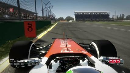 Нестабилен болид F1 2012