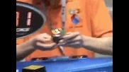 Бифш Официален Световен рекорд: Рубик куб 7.08сек Erik Akkersdijk