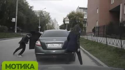 Ето как се крадат коли в Русия