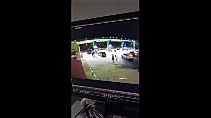 Батки нападнаха Динко от Ямбол на бензиностанция