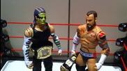 Grims Toy Show:wwe Actions Figures Cm Punk Mattel Elite